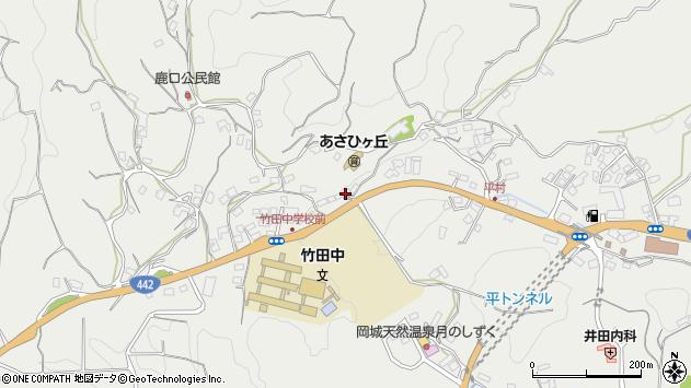 大分県竹田市会々3494周辺の地図