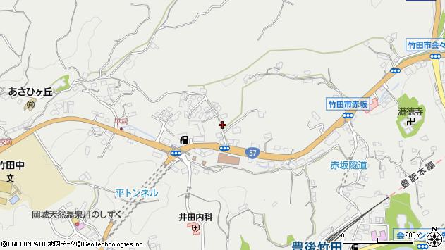 大分県竹田市会々2794周辺の地図