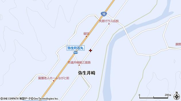 大分県佐伯市弥生大字井崎1039周辺の地図