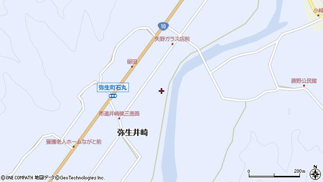 大分県佐伯市弥生大字井崎1017周辺の地図