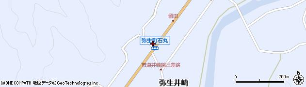 大分県佐伯市弥生大字井崎1460周辺の地図