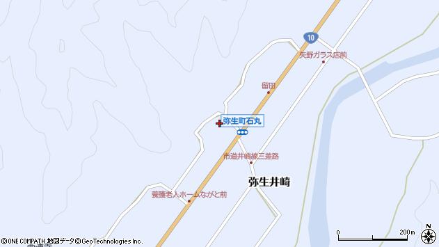 大分県佐伯市弥生大字井崎1480周辺の地図
