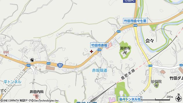 大分県竹田市会々2760周辺の地図