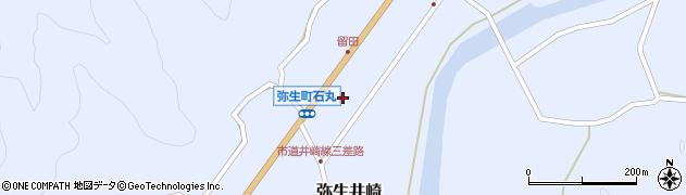 大分県佐伯市弥生大字井崎1532周辺の地図