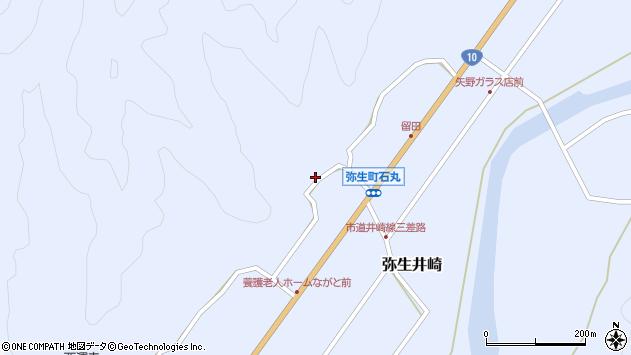 大分県佐伯市弥生大字井崎2149周辺の地図