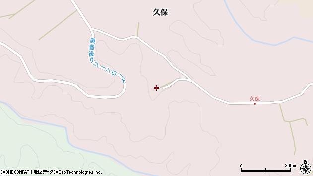 大分県竹田市久保894周辺の地図