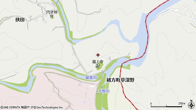 大分県竹田市挟田十川周辺の地図