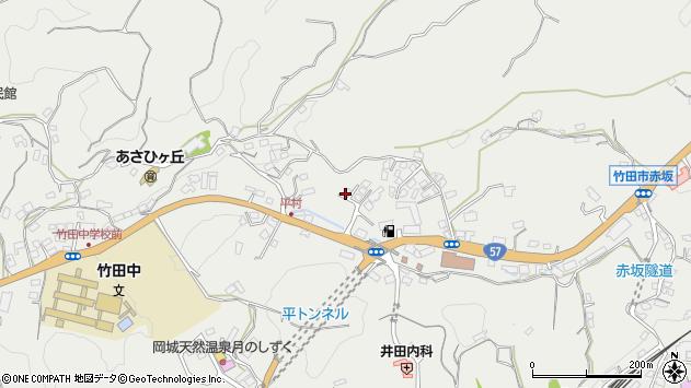 大分県竹田市会々2816周辺の地図