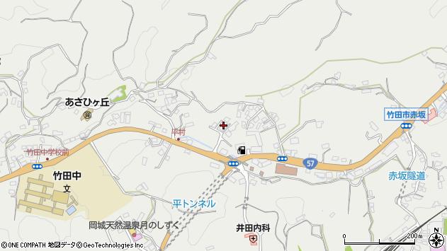 大分県竹田市会々2811周辺の地図