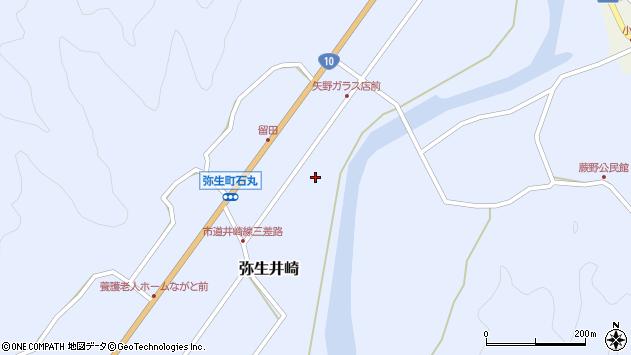 大分県佐伯市弥生大字井崎1016周辺の地図