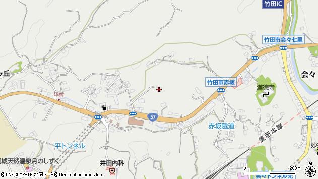 大分県竹田市会々2789周辺の地図