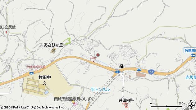 大分県竹田市会々2824周辺の地図