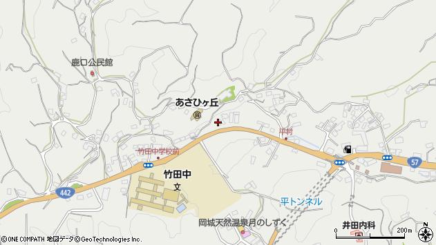 大分県竹田市会々3312周辺の地図