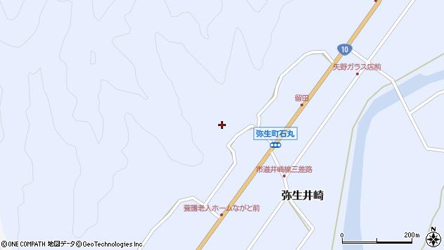 大分県佐伯市弥生大字井崎2151周辺の地図