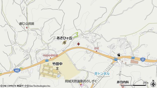 大分県竹田市会々3313周辺の地図