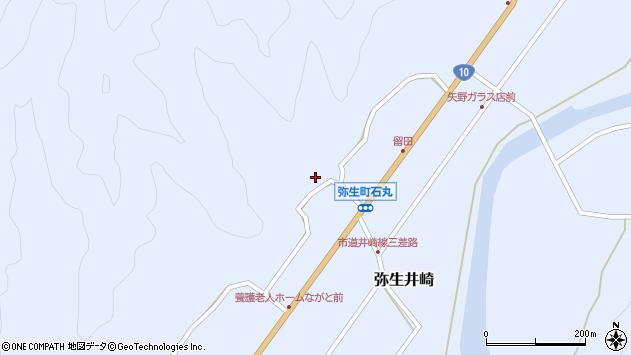 大分県佐伯市弥生大字井崎2140周辺の地図