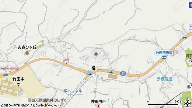大分県竹田市会々2803周辺の地図