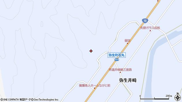 大分県佐伯市弥生大字井崎2152周辺の地図