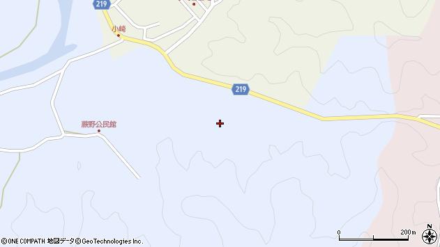 大分県佐伯市弥生大字井崎89周辺の地図