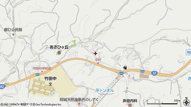 大分県竹田市会々3288周辺の地図