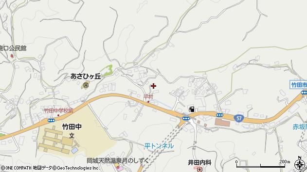 大分県竹田市会々2828周辺の地図