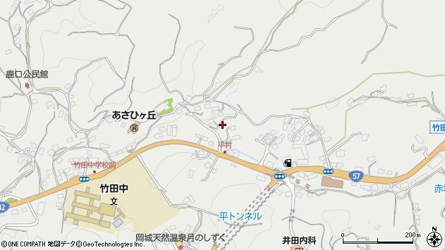大分県竹田市会々3287周辺の地図