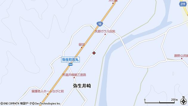 大分県佐伯市弥生大字井崎1012周辺の地図