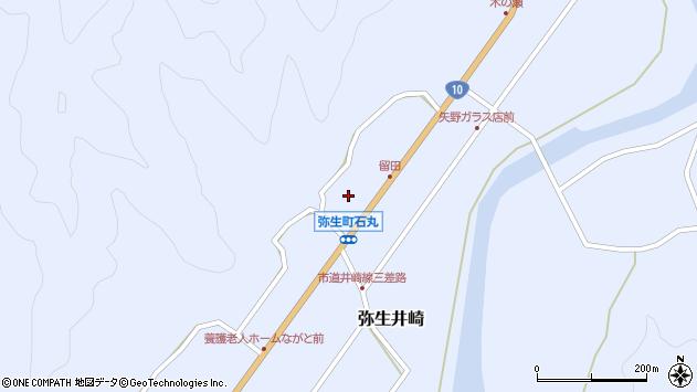 大分県佐伯市弥生大字井崎1467周辺の地図