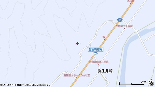 大分県佐伯市弥生大字井崎2145周辺の地図