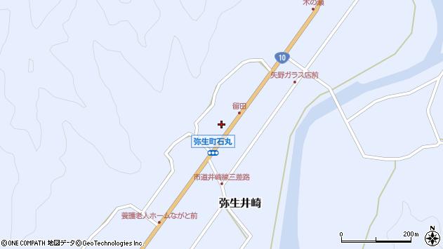 大分県佐伯市弥生大字井崎1500周辺の地図
