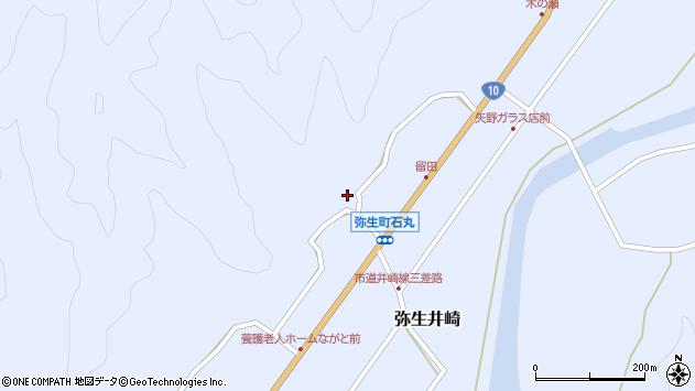 大分県佐伯市弥生大字井崎2074周辺の地図