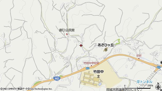 大分県竹田市会々3886周辺の地図