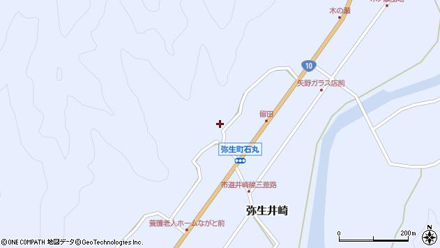 大分県佐伯市弥生大字井崎2077周辺の地図
