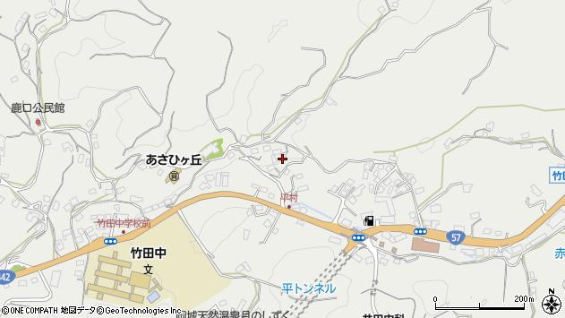 大分県竹田市会々3281周辺の地図
