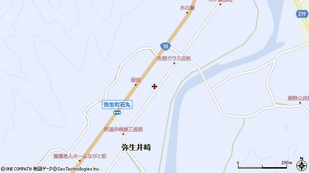 大分県佐伯市弥生大字井崎1009周辺の地図