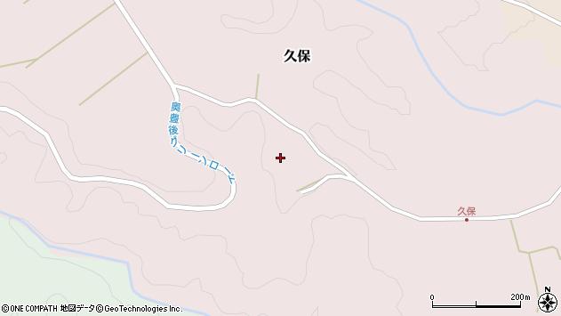 大分県竹田市久保990周辺の地図