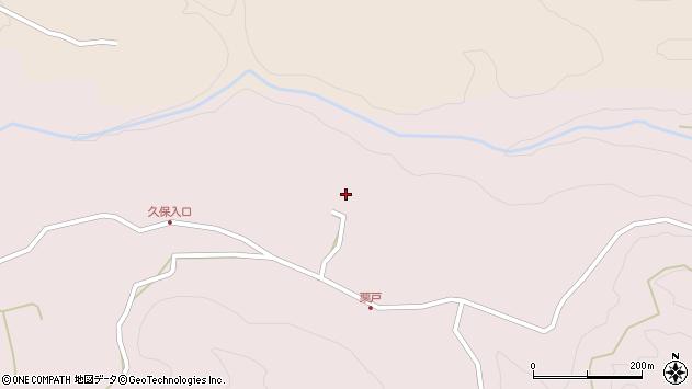 大分県竹田市久保413周辺の地図