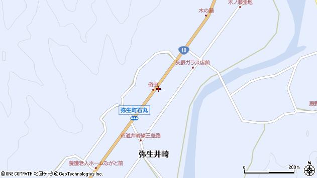 大分県佐伯市弥生大字井崎1540周辺の地図