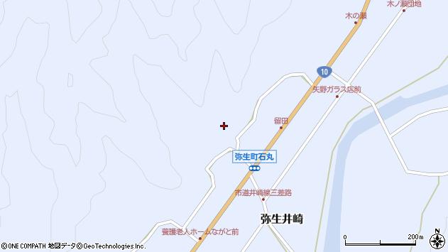 大分県佐伯市弥生大字井崎2133周辺の地図