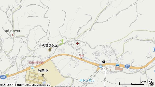 大分県竹田市会々3276周辺の地図