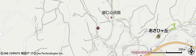 大分県竹田市会々3821周辺の地図