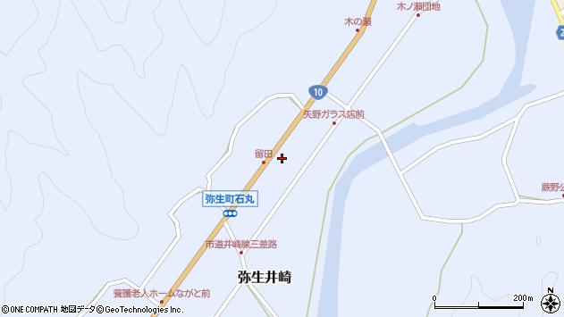 大分県佐伯市弥生大字井崎2640周辺の地図