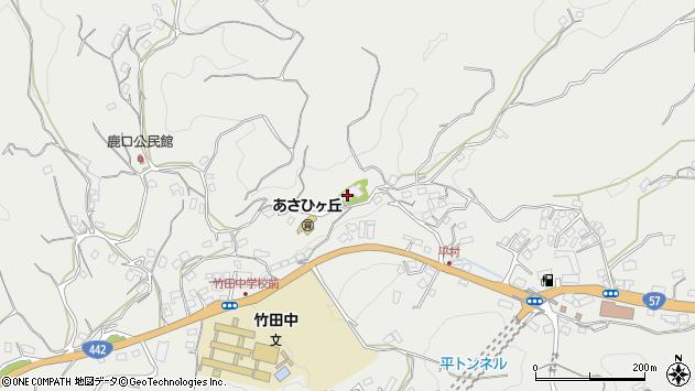 大分県竹田市会々3257周辺の地図