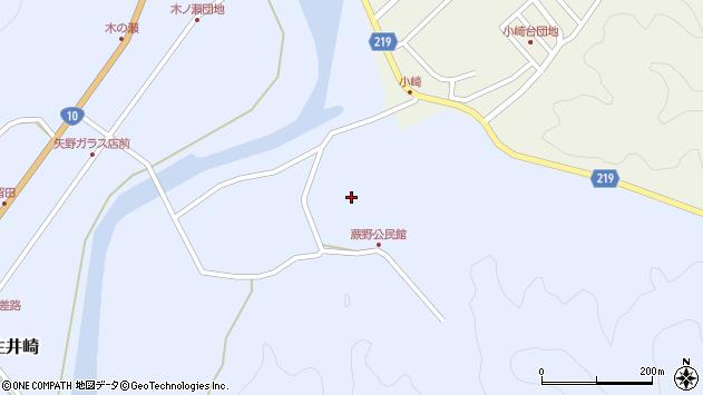 大分県佐伯市弥生大字井崎288周辺の地図