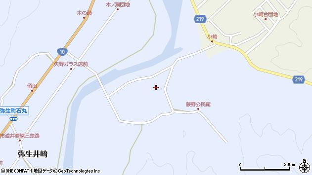 大分県佐伯市弥生大字井崎463周辺の地図