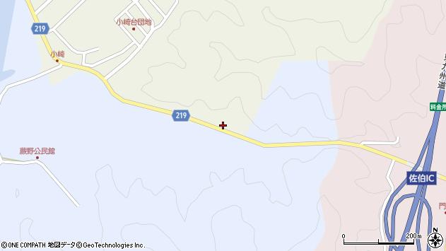 大分県佐伯市弥生大字井崎5周辺の地図
