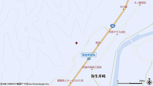 大分県佐伯市弥生大字井崎2129周辺の地図
