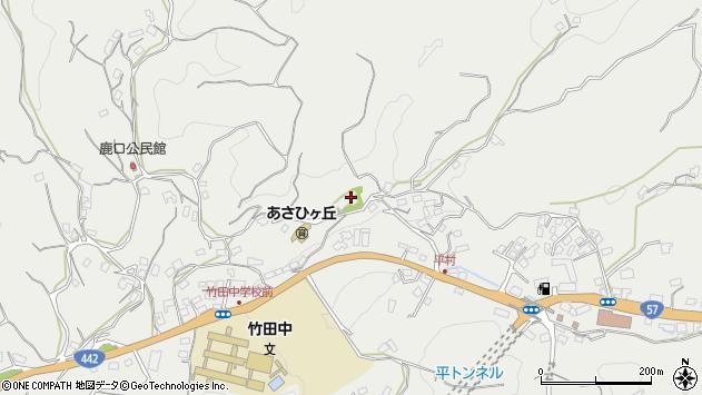 大分県竹田市会々3258周辺の地図