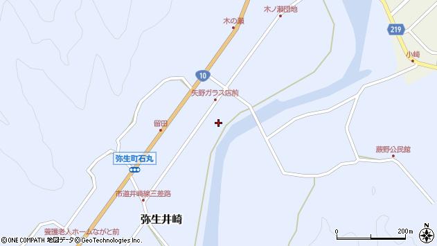大分県佐伯市弥生大字井崎1790周辺の地図