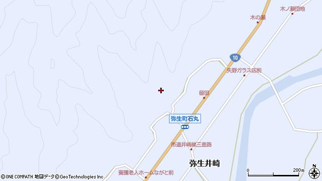 大分県佐伯市弥生大字井崎2131周辺の地図